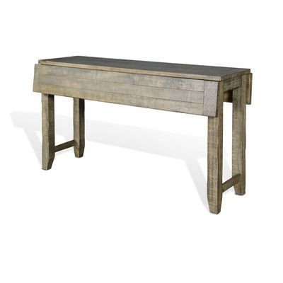 Magnificent Sunny Designs Driftwood Console Table House Console Machost Co Dining Chair Design Ideas Machostcouk