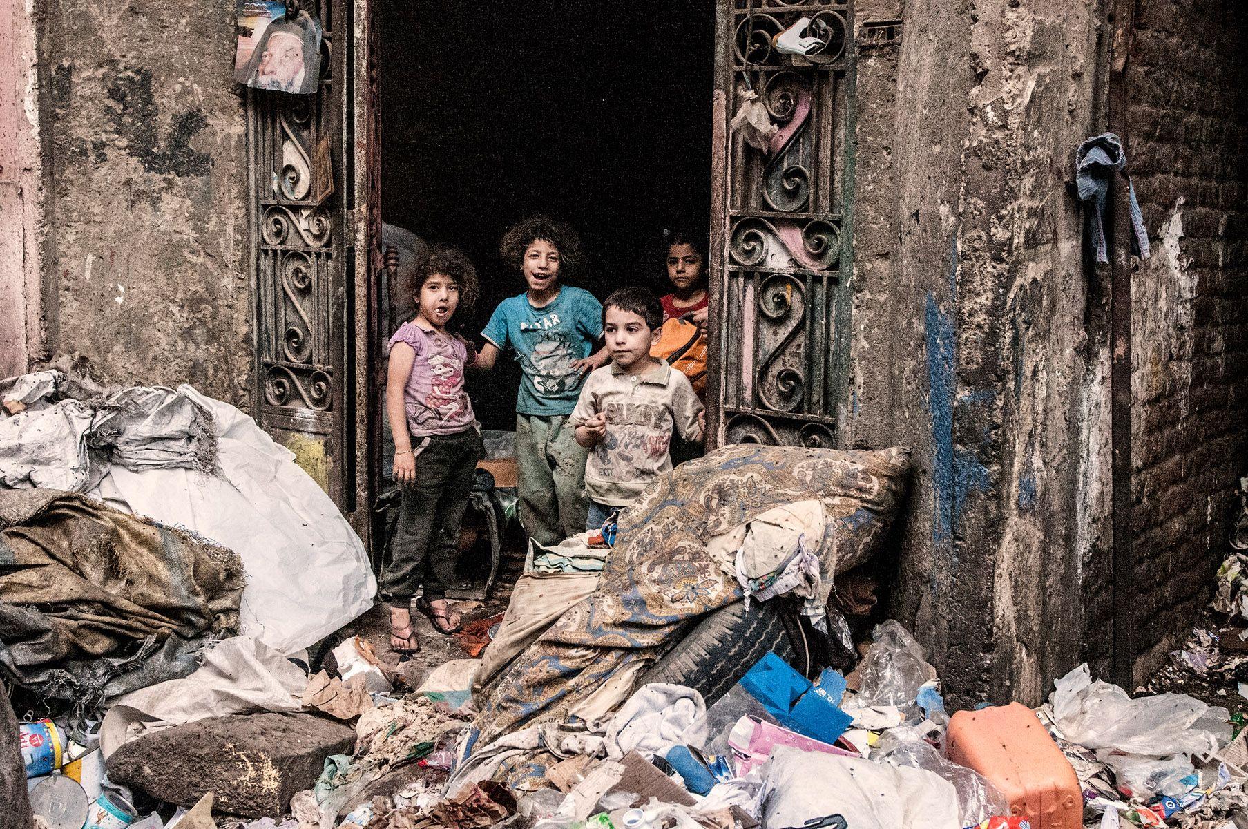 Garbage City Cairo Egypt 2014 Foto Francesca Remorini