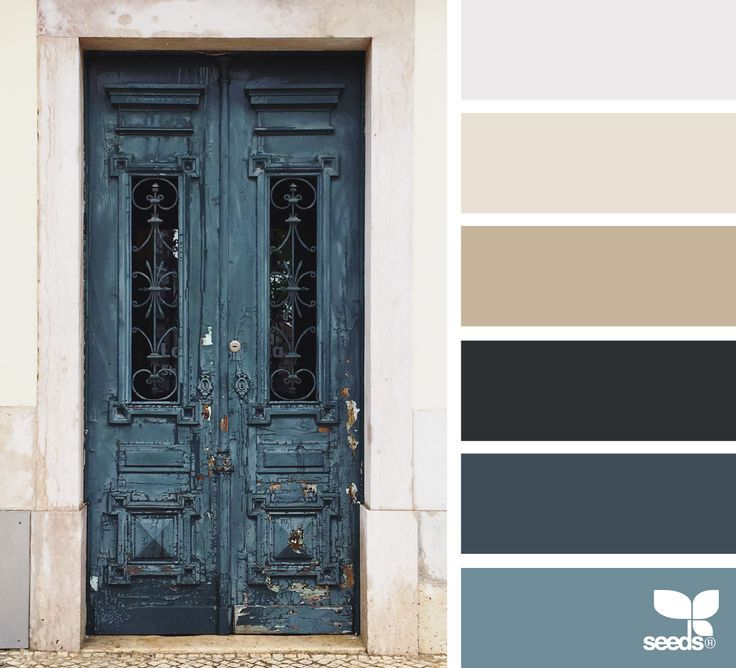 A Door Hues | Beige color palette, Design seeds, House colors