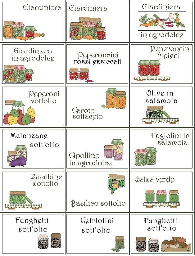 Popolare ETICHETTE; TERRY TANTI | etichette | Pinterest | Etichette, Aceto  ST93