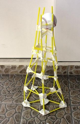 Tallest Building  Sheets Of Paper Team Building