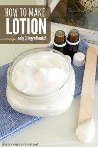 How to make Lotion – Easy Homemade Lotion Recipe