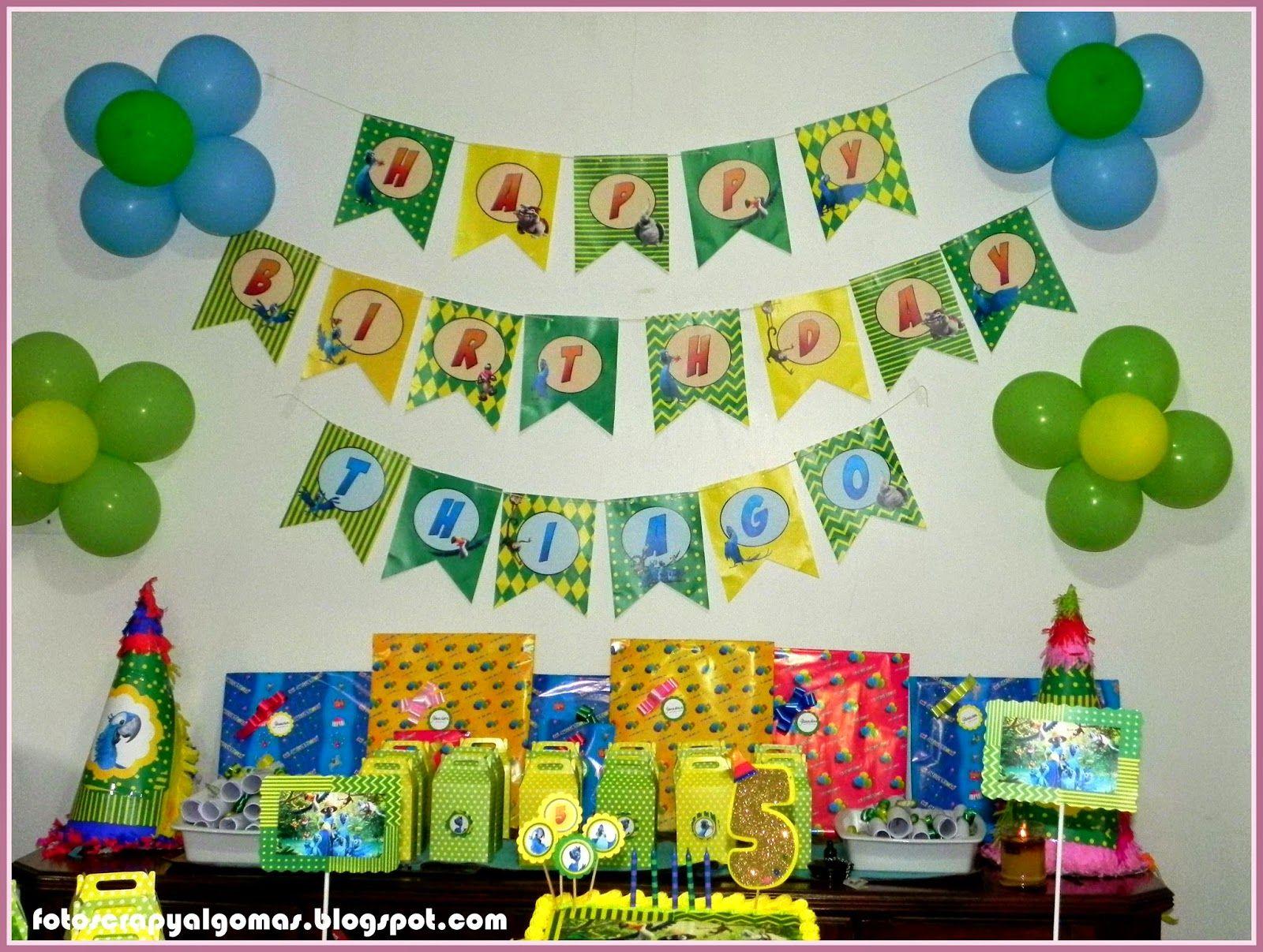 Banner Feliz Cumpleaños personalizado