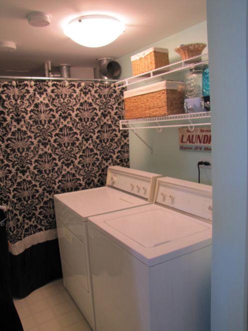 Fresh Laundry room update. Under $200
