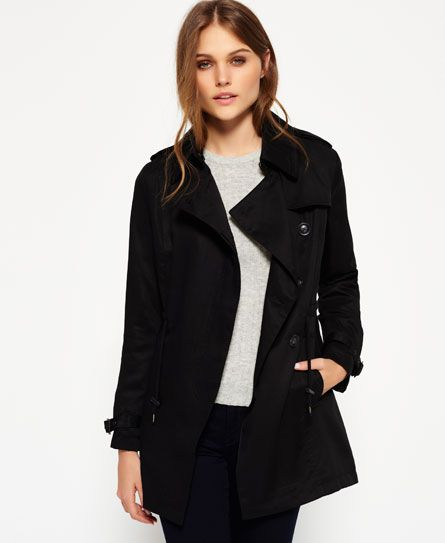 97a8e6ff58b The Superdry Draped Trench Coat take your outfit to the next level ...