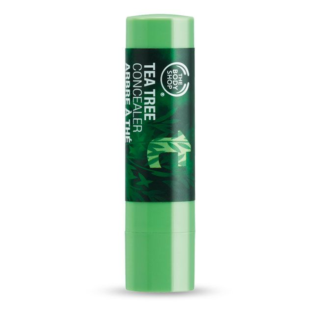 Tea Tree Concealer - A handy, portable stick to conceal blemishes, without over drying the skin.