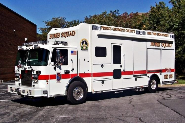 Prince County (MD) Fire/EMS Dept. Bomb Squad BD