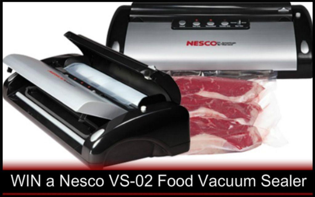 Food Vacuum Sealer Giveaway