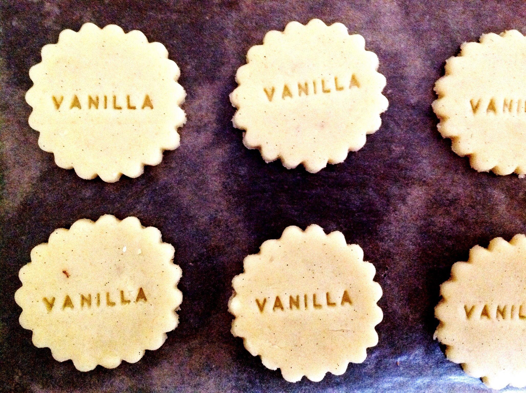 Vanille Plätzchen, biscotti alla vaniglia, cookies, sweet, süsse Geschenke, regali dolci