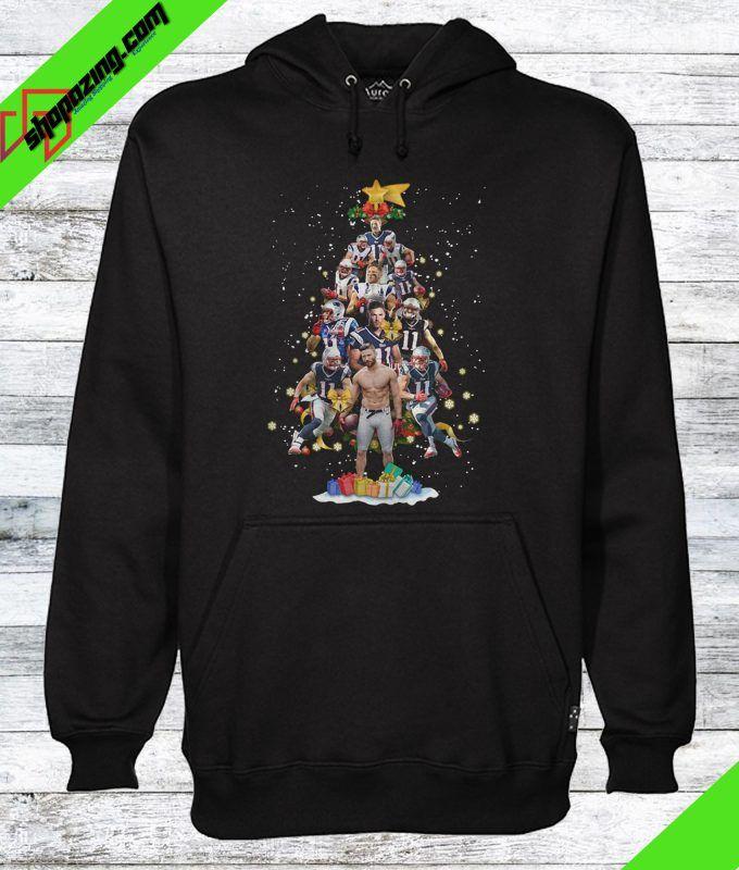 low priced a70b7 f2cef Julian Edelman Christmas Tree Ugly Hoodie | Hoodie | Julian ...