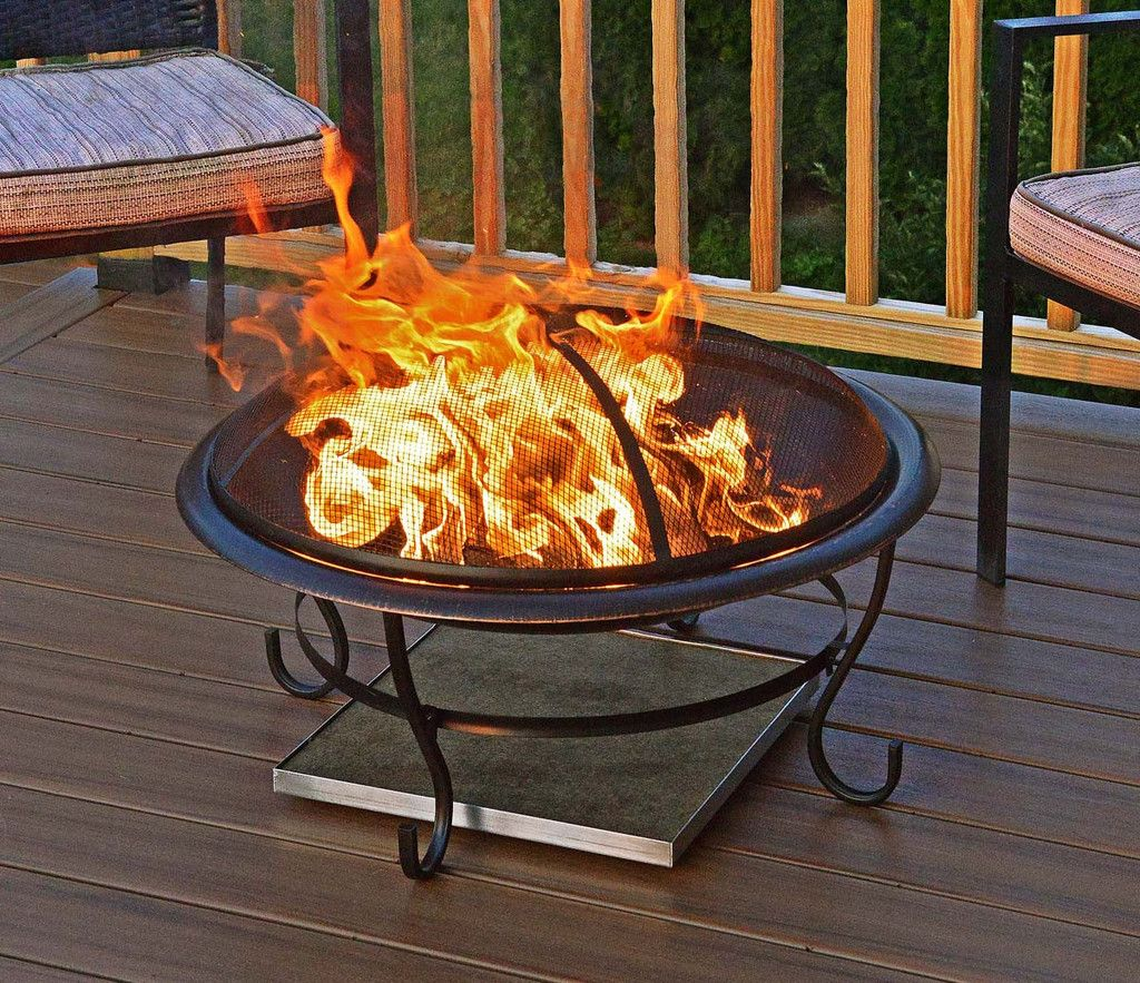 Deck Protect Fire Pit Mat Save 10 If Combined With Any Fire Pit Fire Pit Mat Fire Pit Accessories Outdoor Fire Pit