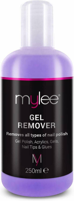 Mylee Gel Polish Remover Acetone 250ml Salon Professional Uv Led Nail Polish Cl Ebay In 2020 Gel Polish Uv Led Nail Polish