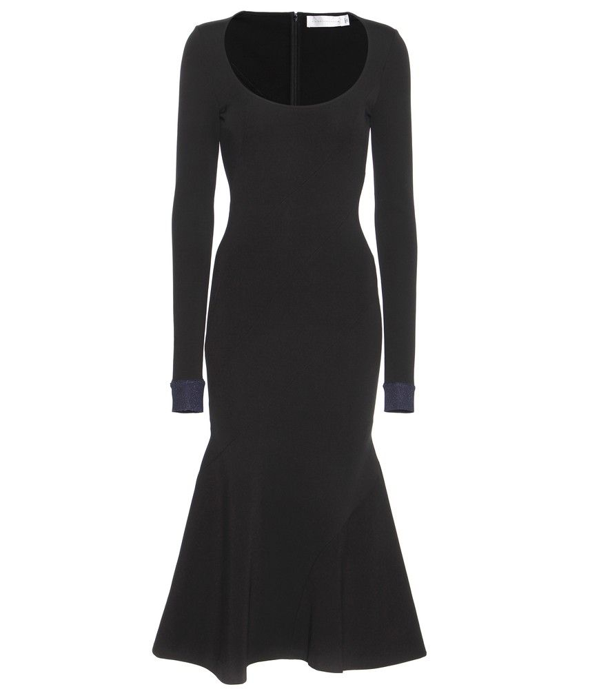 Victoria Beckham Stretch Dress Crafts A Stand Out Silhouette That Starts With An Hourgl Figure And Ends In Mermaid Tail This