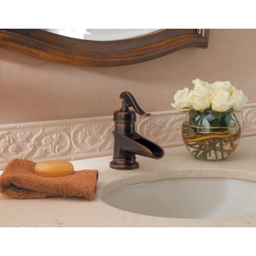Pfister PGT42YP0U Ashfield Single Hole Bathroom Faucet - Rustic ...