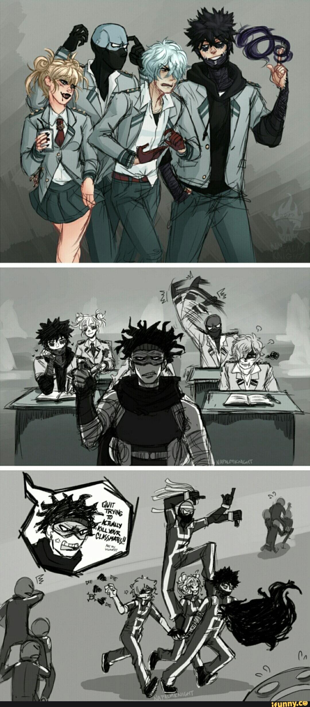 So, Stain Would Be Known As Akaguro Sensei Lol