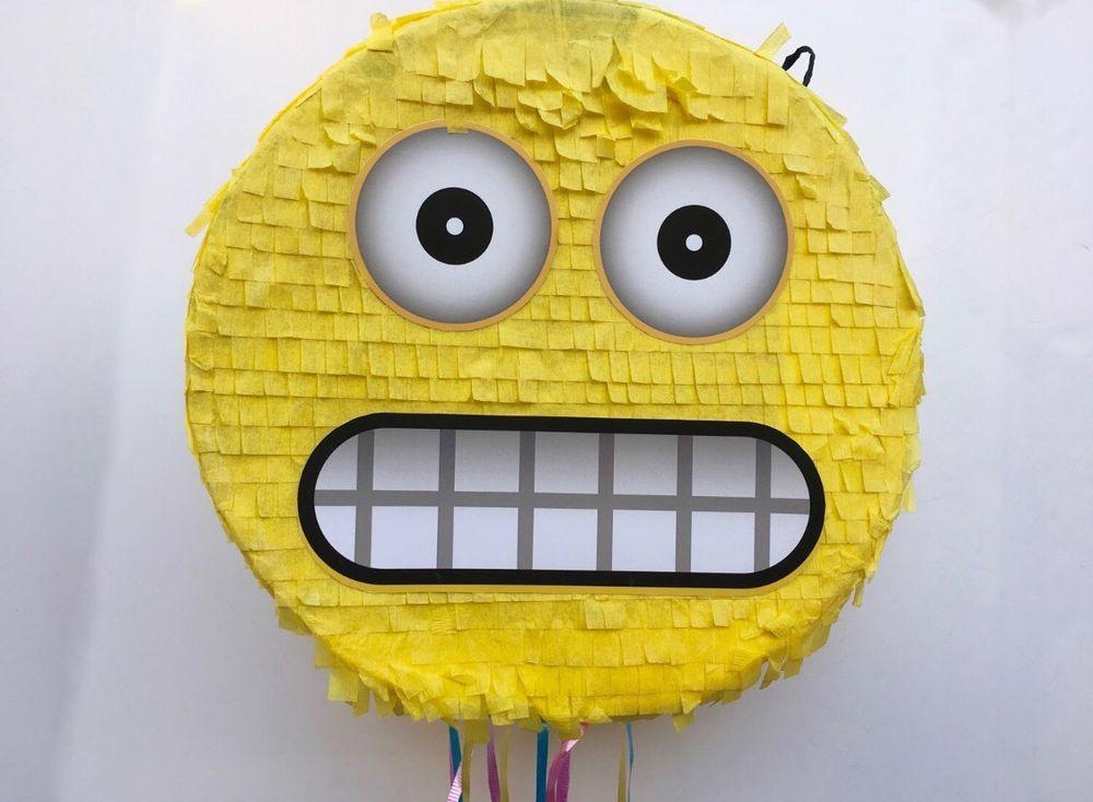 Emoji Pinata 14 034 Hand Made Custom Birthday Party
