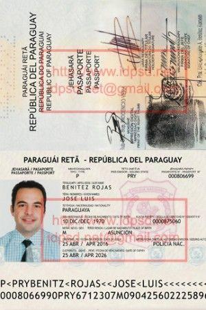 Template Paraguay Passport Psd Www Idpsd Net Passport Online Passport Birth Certificate