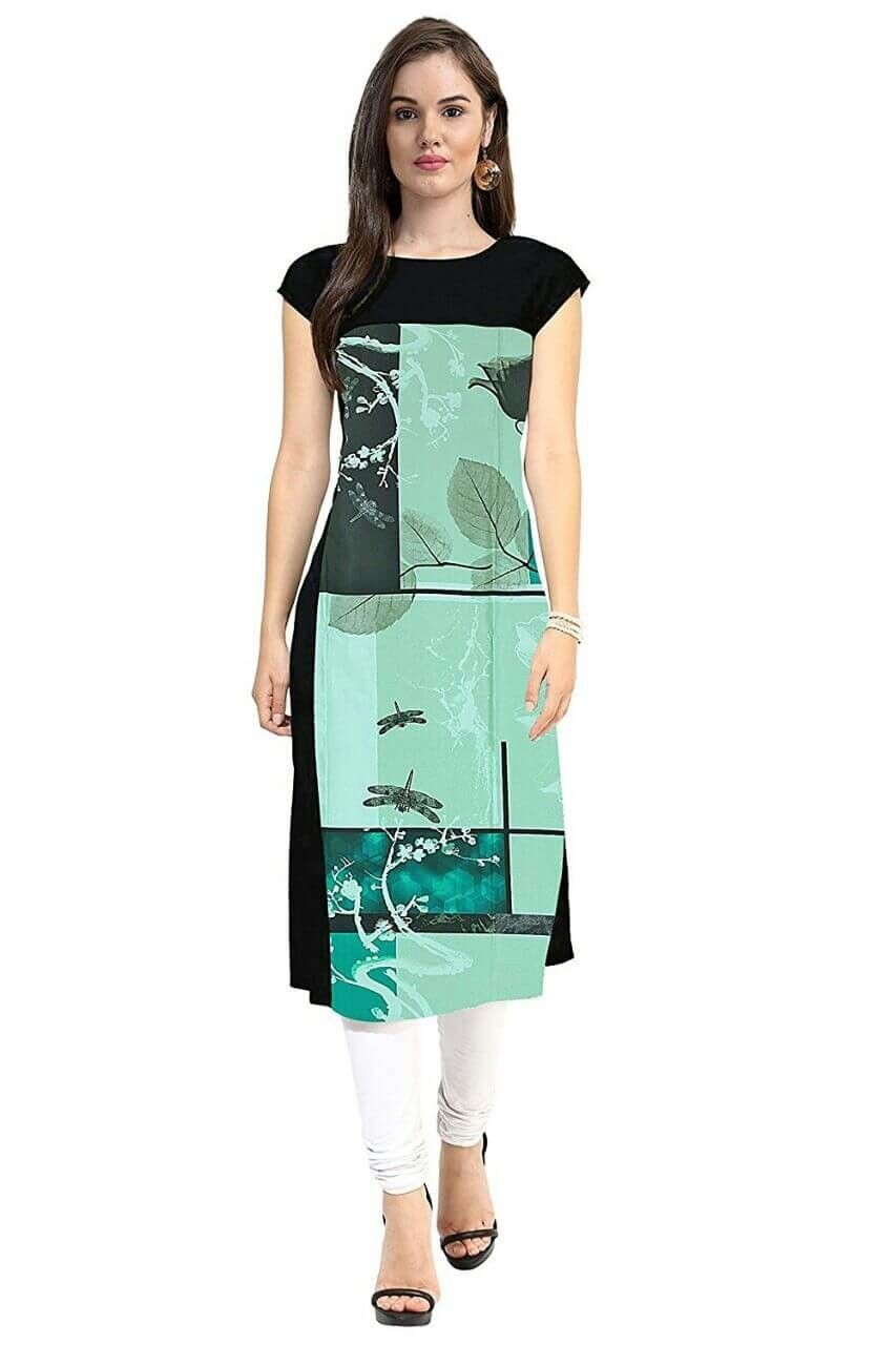 Buy Digital latest printed kurtis picture trends