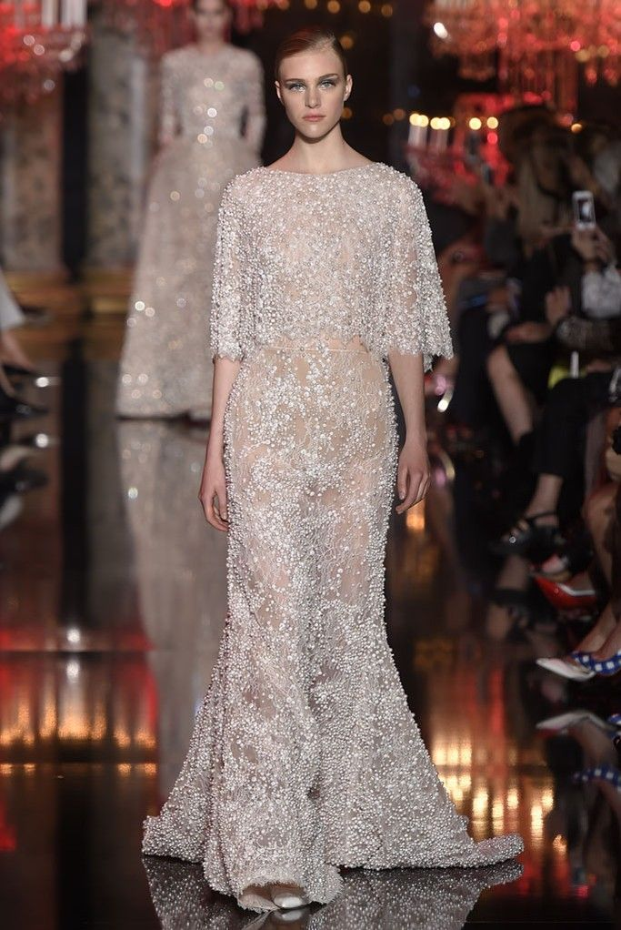 Elie Saab Couture Fall 2014 - Slideshow - Runway, Fashion Week, Fashion Shows, Reviews and Fashion Images - WWD.com