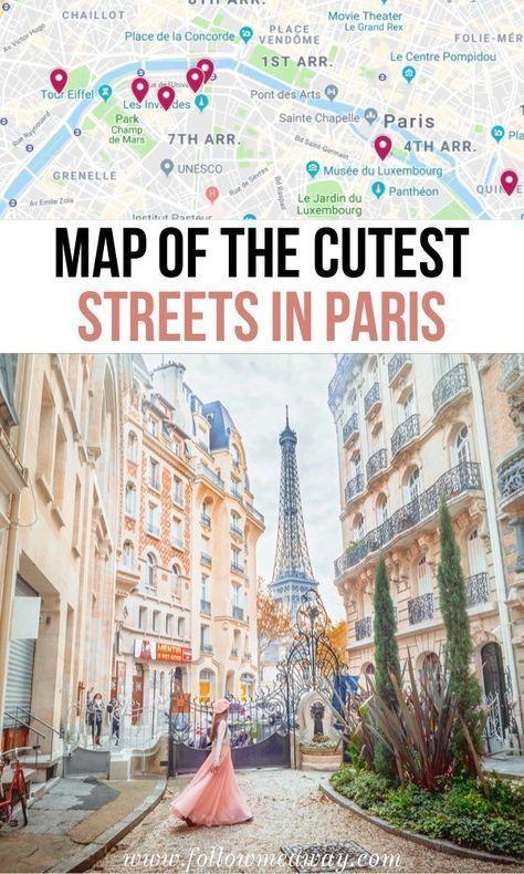 10 der schönsten Straßen in Paris + Karte, um sie zu finden   – Io sono io méme á Paris – fare bella figura