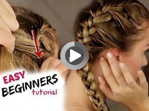 hairstyles Step By Step beginners - Tutorial: How to BRAID your hair STEP BY STEP! For beginners :) - Tutorials for short hair
