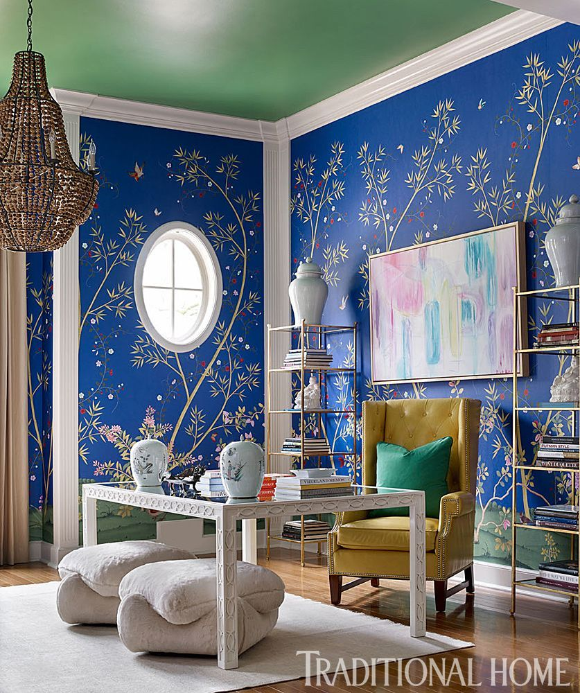 24 Super Colorful Home Office Ideas That Make Working At