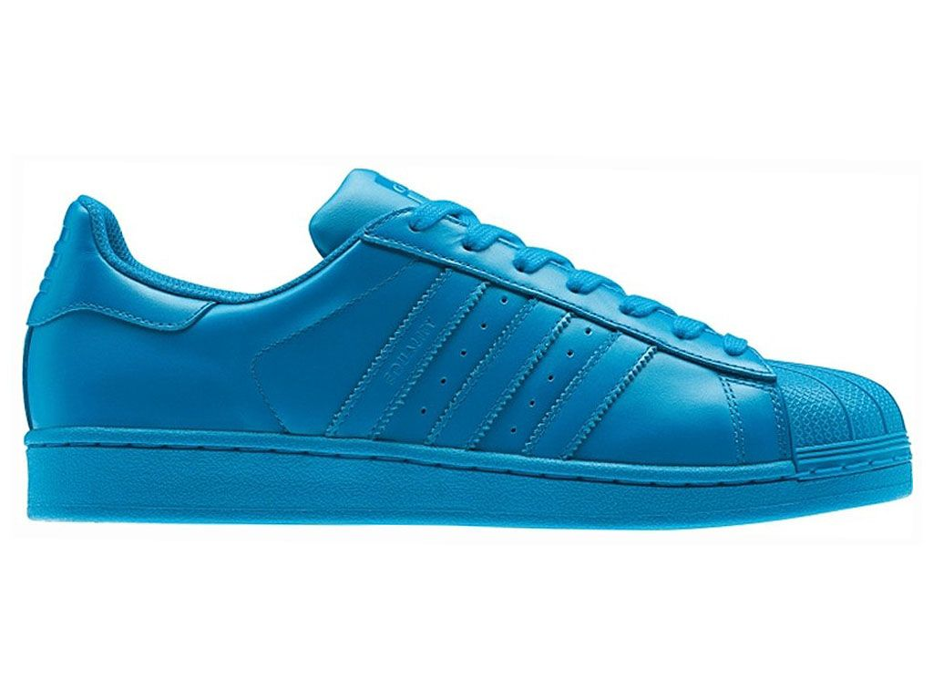 Adidas Superstar Originals Trainers Sharp Supercolor Pharrell x Williams  Chaussures Pas Cher Pour Homme bleu S41827