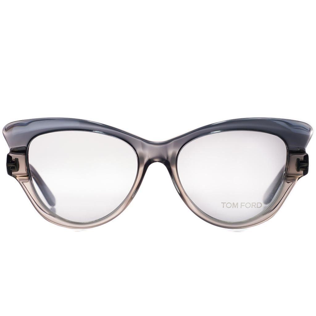 Tom Ford FT 5269/V 020 Grey Gradient Cateye Winged Optical Frames ...
