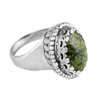 No wonder we call this the Green Goddess collection! - Carolyn Pollack Serpentine Ring
