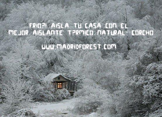 ¡aisla tu casa del frío!