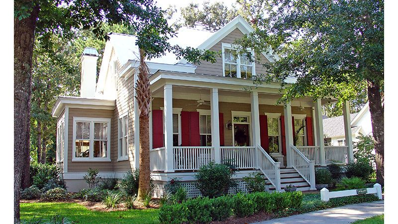 Eden Ridge Allison Ramsey Architects Inc Southern Living House Plans Country Cottage House Plans Low Country Homes House Plan Gallery