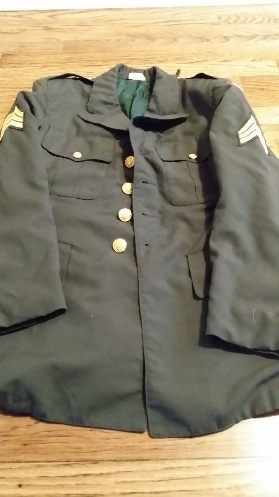 U.S. Formal Army Jacket/Coat Formal by RobsVintageTreasures, $40.00