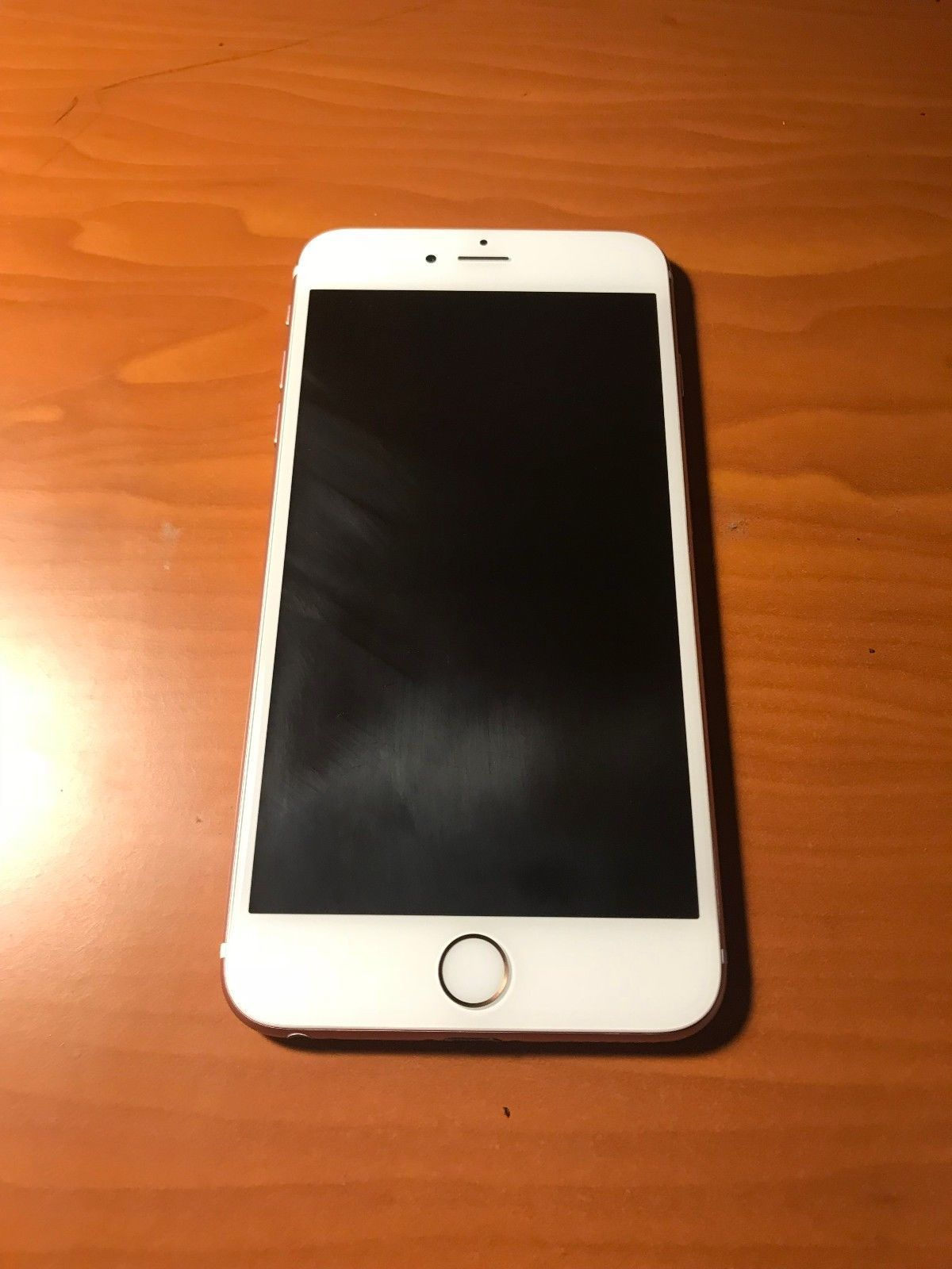Apple Iphone 6s Plus 64gb Rose Gold At T A1634 Cdma Gsm