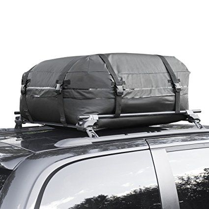 Cargo Roof Bag 100 Waterproof Car Top Carrier Easy To Install Soft Rooftop Luggage Carriers With Wide Straps A Luggage Carrier Waterproof Car Black Roof