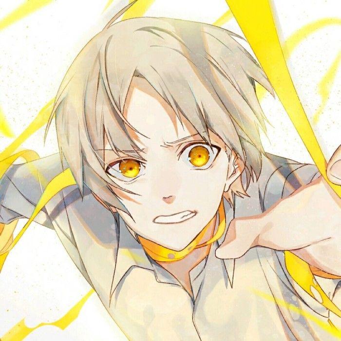 Yellow Eyes Anime Boy Crying Anime Eyes Black Anime Characters