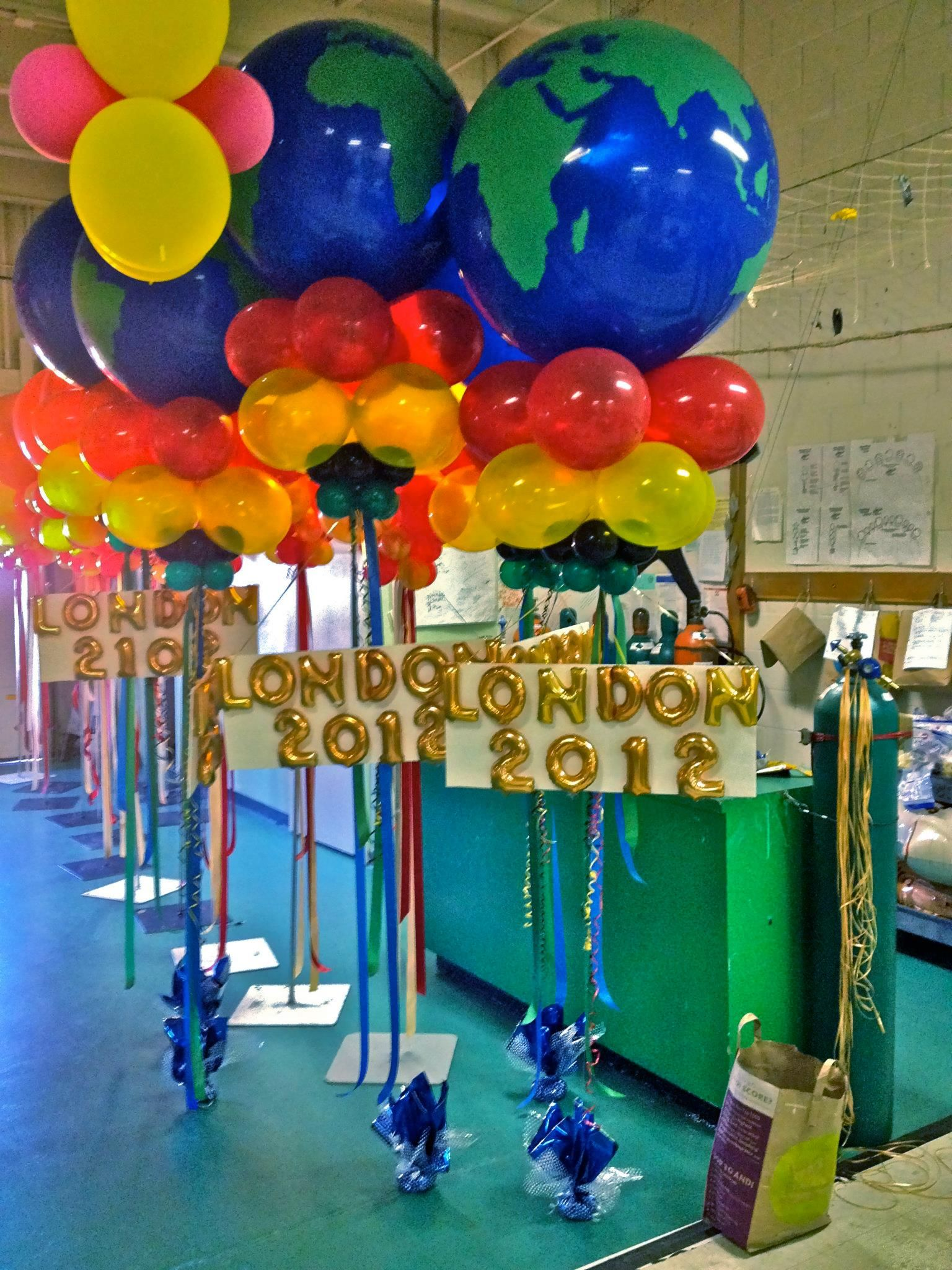 Olympic Balloon | Olympic party decorations, Olympic theme ...