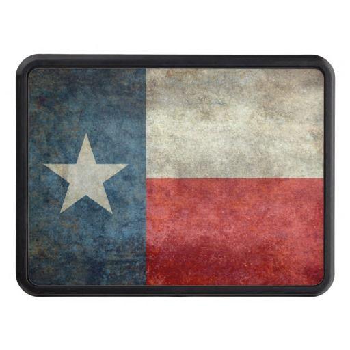 Texas state flag vintage retro trailer hitch cover   #Texas #state #flag #retro, USA, #texasflag #texasstateflag #american #america #vintage #lonestarflag, #texan #retrostyle #Texanflag