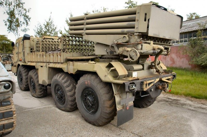 The RM-70 (raketomet vzor 1970) multiple rocket launcher is a Czechoslovakian army version and the heavier variant of the BM-21 Grad multiple rocket launcher