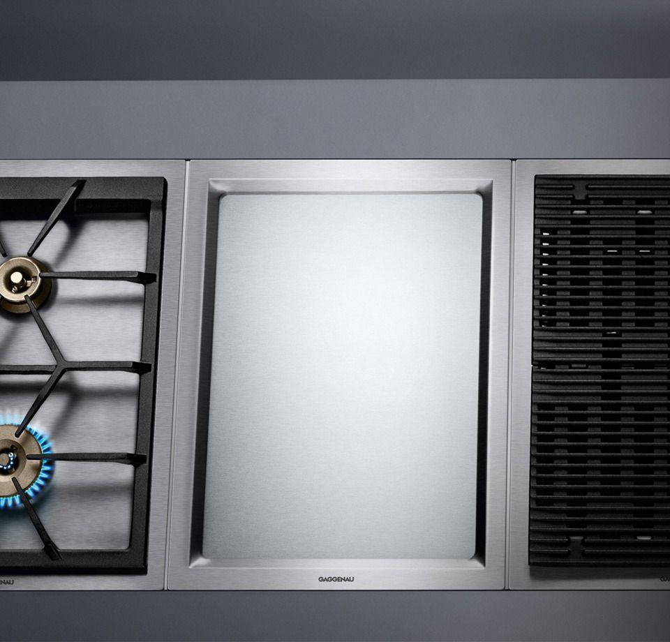 cooktop steamer by gaggenau vario teppan yaki 400 series revuu appliances revuu. Black Bedroom Furniture Sets. Home Design Ideas