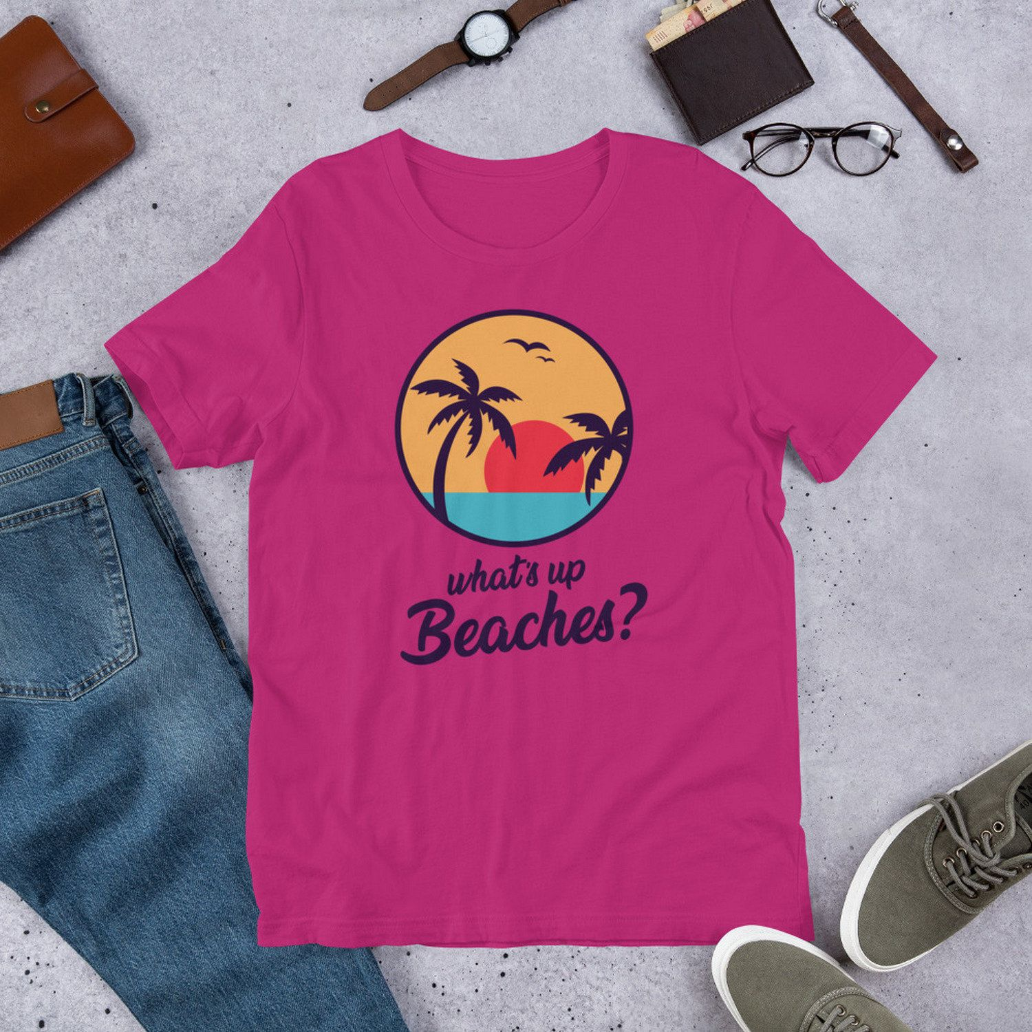 bc2a85e7 Whats Up Beaches Shirt - Brooklyn Nine Nine Funny TV Show Gifts - Brooklyn  99 Captain Holt Tees for Summer Holidays and Vacation - B99 Shirt