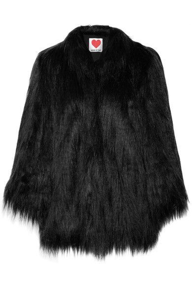 Yeti Convertible Oversized Faux Fur Coat - Black House of Fluff Manchester Great Sale Cheap Online Free Shipping Enjoy Discount Cheapest Price Cheap New Styles Buy Cheap Cost wi4VkboJO