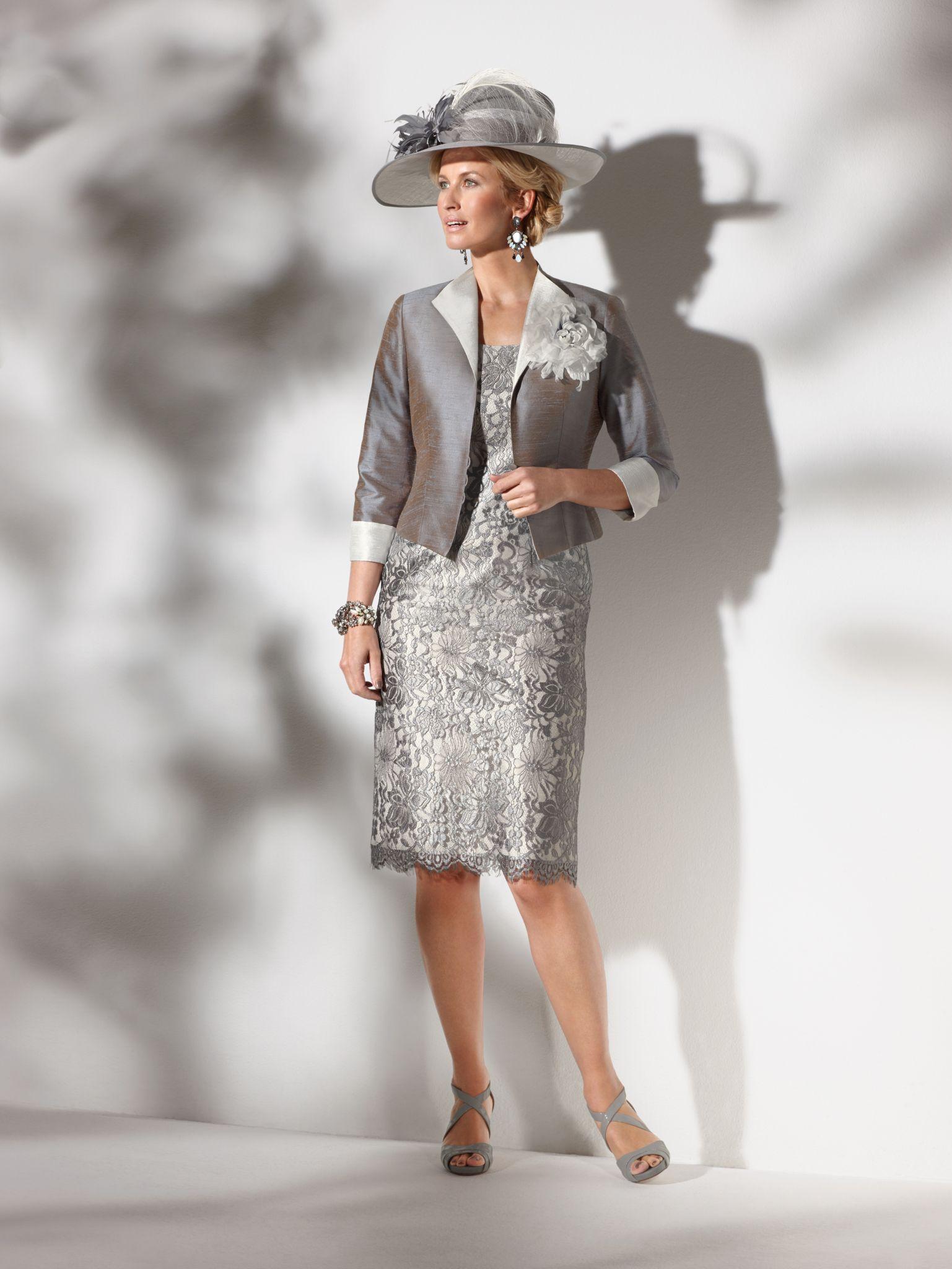 Condici Dress & Jacket 90383, colour Cloudburst / Cream.   Condici ...