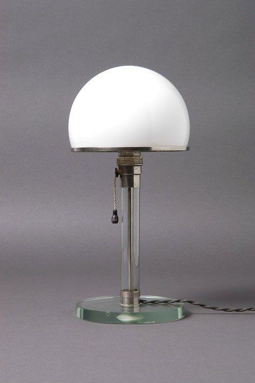Design Is Fine Wilhelm Wagenfeld Carl J Jucker Bauhaus Lamp 1924 Collection Neue Sammlung Munich Design Icon Trademar Lamp Bauhaus Furniture Bauhaus