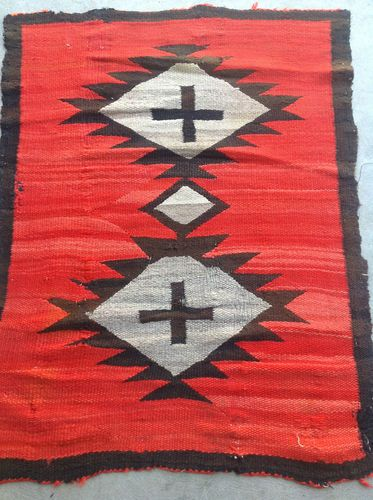 Antique Navajo Rug Ebay