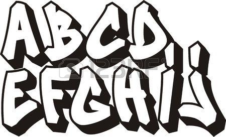 Stock Photo | Graffiti ABCs | Graffiti font, Street art