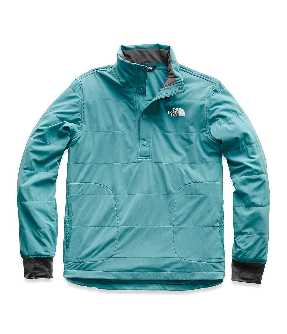 2f9853477 The North Face Men's Mountain Sweatshirt 188 Snap Neck Pullover in ...