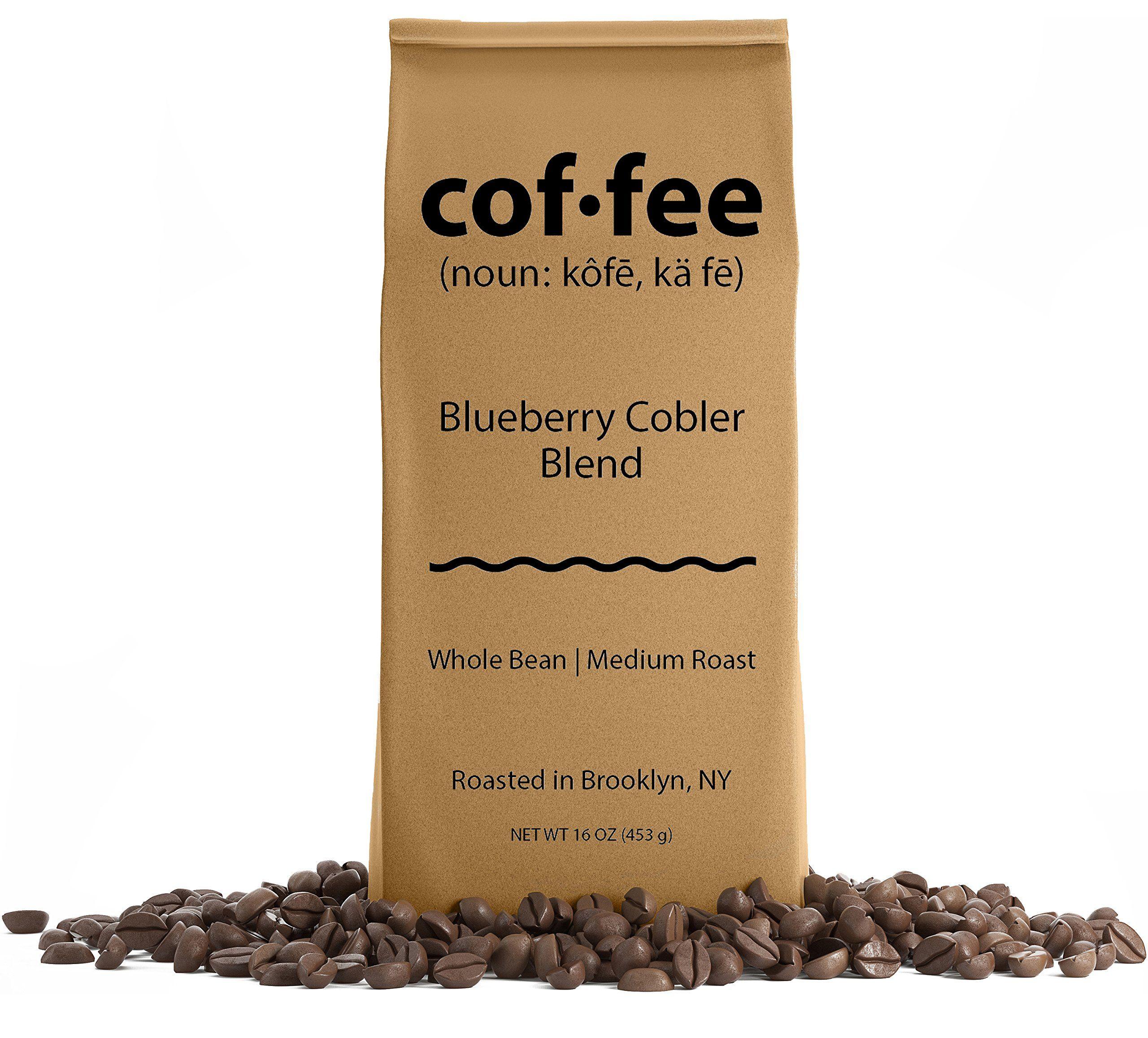Blueberry cobler blend whole bean coffee medium roast
