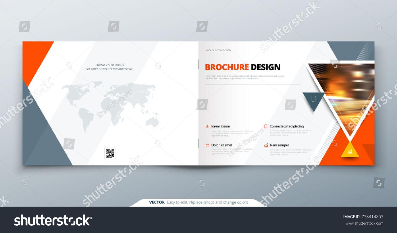 Corporate Branding Brochure Templates Vector EPS AI Illustrator