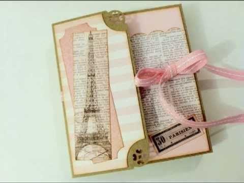 Pink Paris Mini Folio