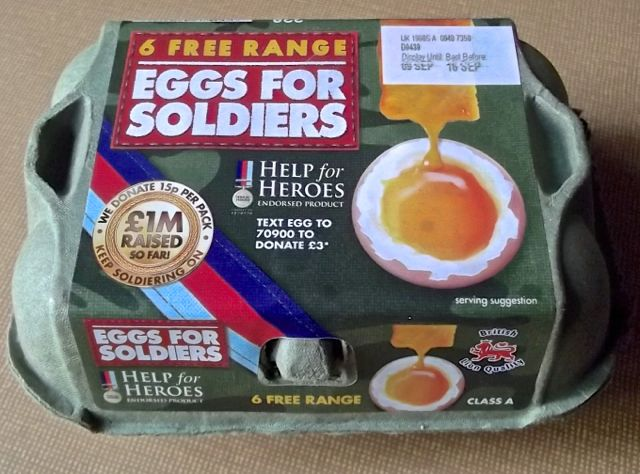 Eggs for Soldiers // Help for Heroes